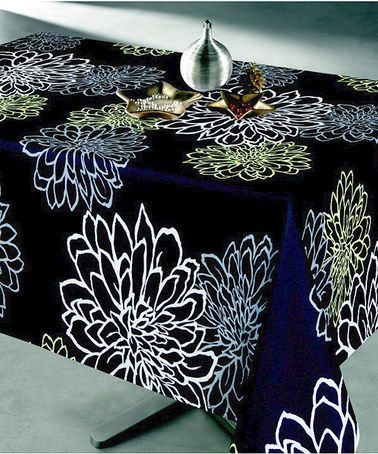 Black Contempo Tablecloth #zulilyfinds