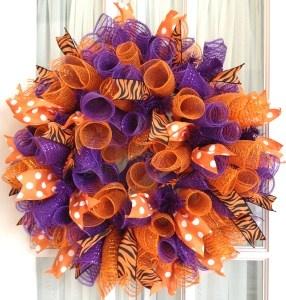 fall deco mesh wreath ideas - Google Search