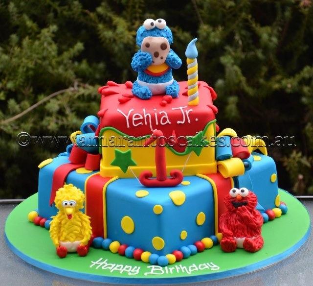 Sesame Street Babies Cake @ Amarantos