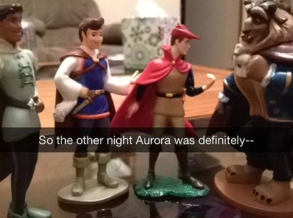 These Brilliant Snapchat Stories About Disney Princesses' Secret Lives Will Make You Laugh Out Loud. Hahahaha