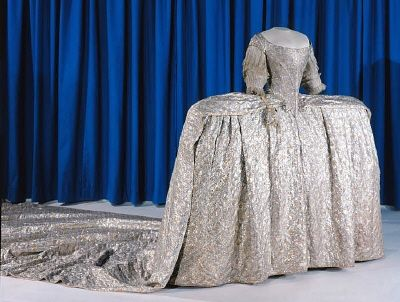 Princess Sophia Magdalena of Denmark wed the future king of Sweden in this gown.