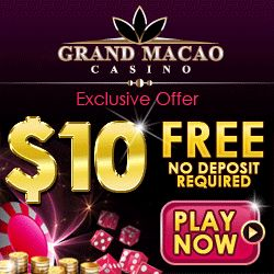 Grand Macau Casino Free Bonus 2014