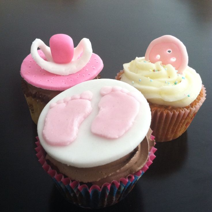Babyshower cupcakes #moncherry #dulcemomento