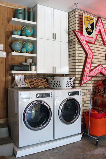 15 Inspiring Laundry Room Ideas For Small Es