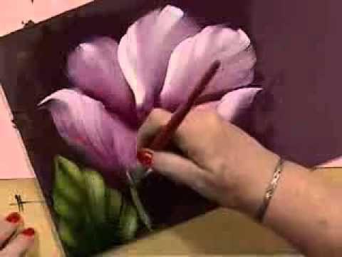 Como hacer pintura americana en un cuadro vintage   Silvia Mongelos en Manos a la Obra - YouTube