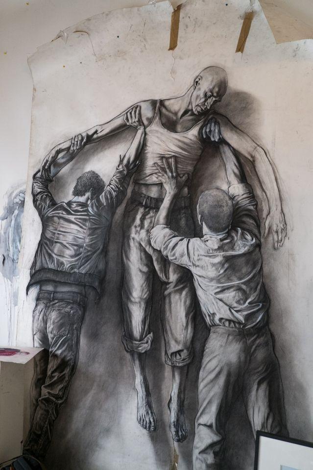 L'Atelier d'Ernest Pignon-Ernest du 14 septembre 2013