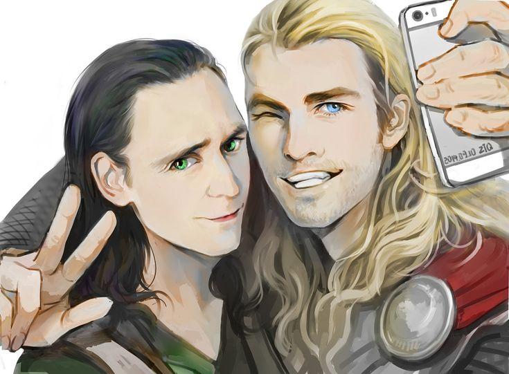 "Tom Hiddleston ""Loki"" ""Thor"" Fan Art From http://vakarixn.tumblr.com/post/104657608424/by-pixiv"