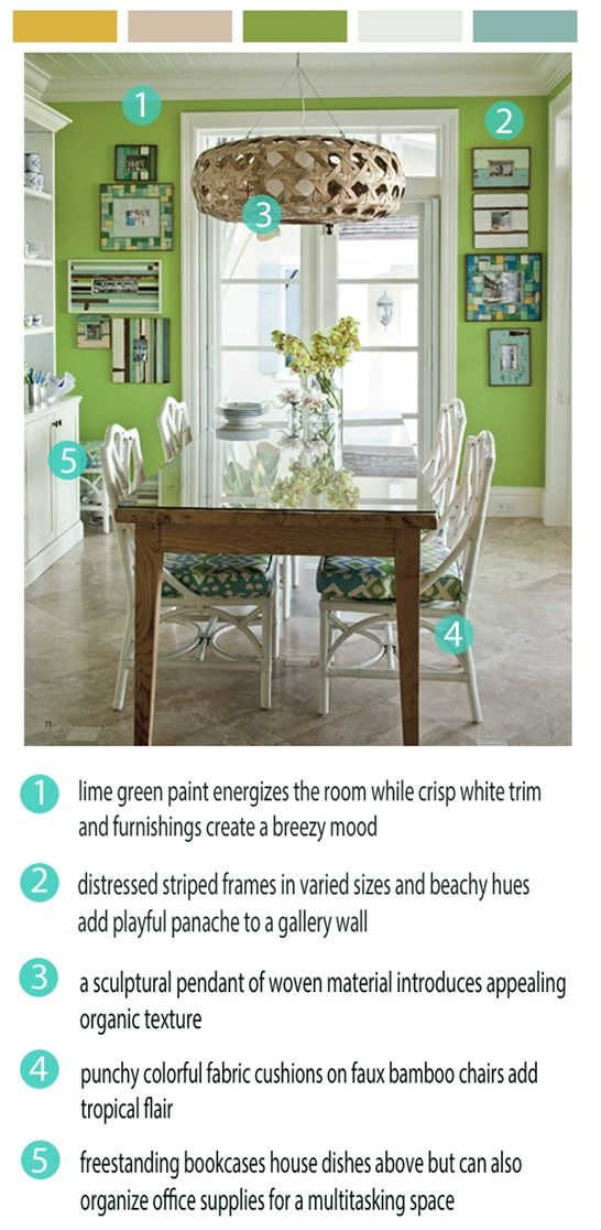 Add a piece of cut glass on top of a rustic dining table. This gives the warmth of the wood with the ease of clean-up coming from the glass topper.