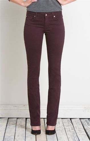 Signature Straight in Black Cherry   Henry & Belle