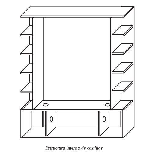 H 225 Galo Usted Mismo 191 C 243 Mo Construir Un Rack Mural Para El