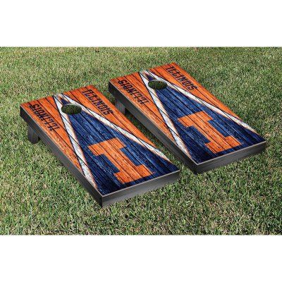 Victory Tailgate College Vault Illinois Fighting Illini Cornhole Game Set - 851528