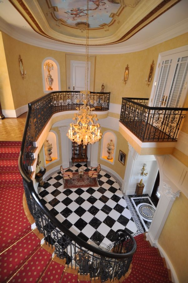 Victorian Foyer : Grand victorian foyer entrances and staircases