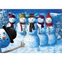 Fun in the Snow Christmas Cards