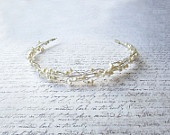 Silver Wire Tiara