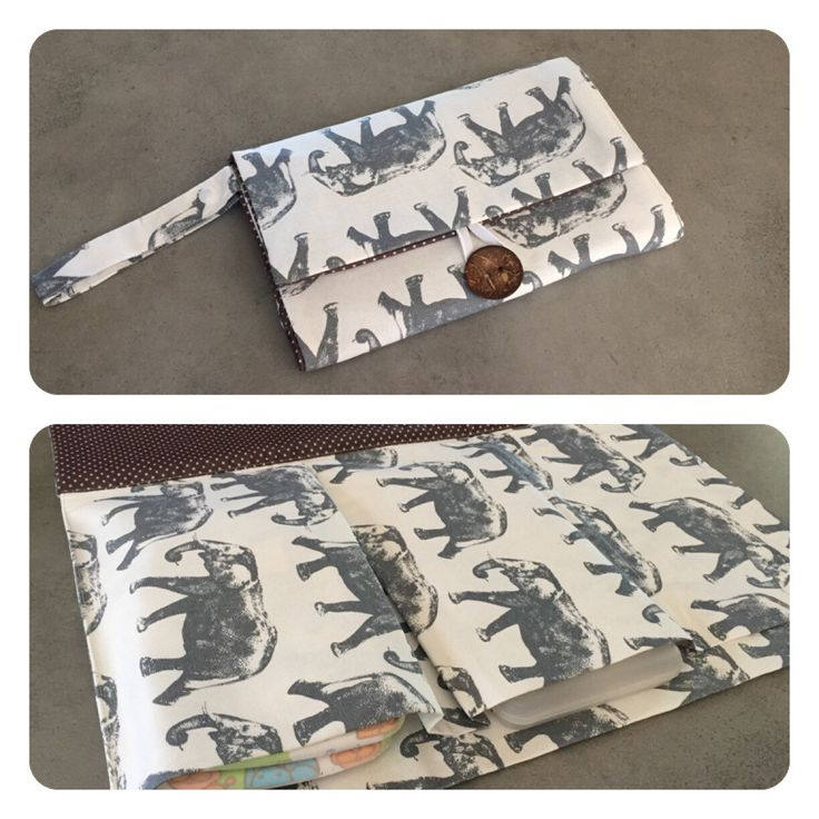 Nappy wallet with attached change mat by schwuppdiwupp on Etsy https://www.etsy.com/listing/220480224/nappy-wallet-with-attached-change-mat