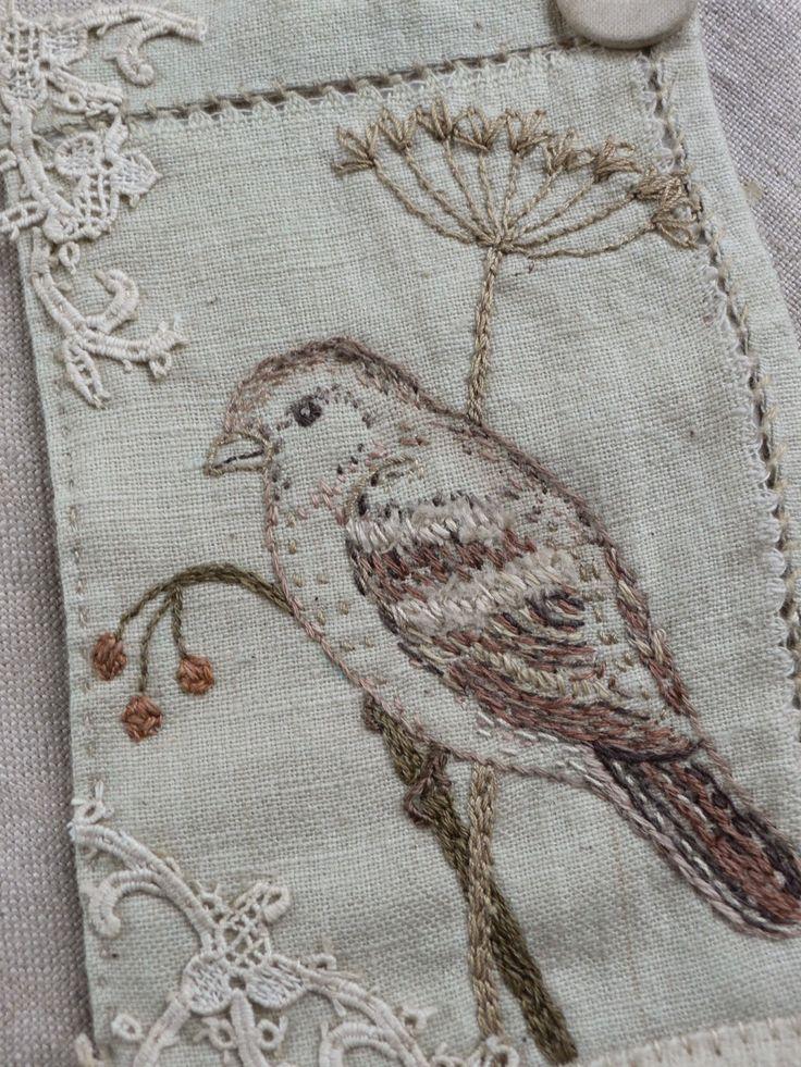 gentlework: Little pieces. I admire her work soooo much!