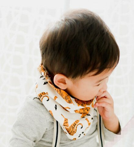 so cute hipster baby infinity scarves from dashingbaby.com