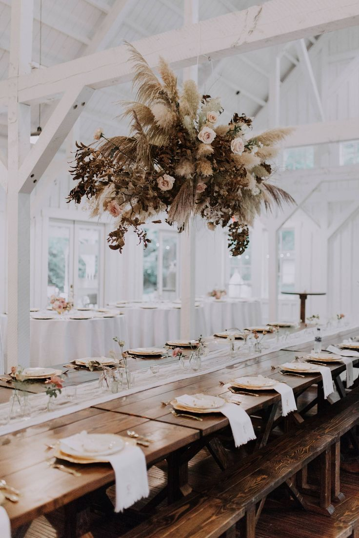 Real Wedding: Shelby + Brooks :: Modern + Boho Farmhouse ...