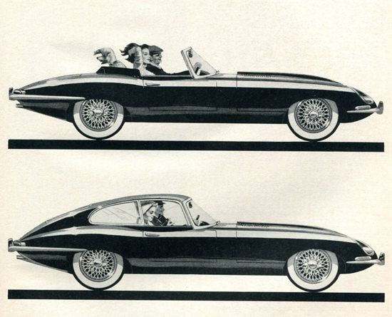 Jaguar XK-E 1963 - Mad Men Art: The 1891-1970 Vintage Advertisement Art Collection