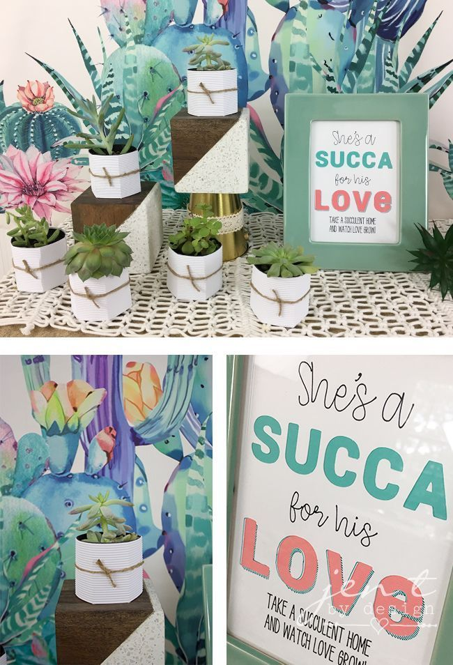 succulent bridal shower with cricut martha stewart and michaels jen t by design ad cricutmarthastewart madewithmichaels cricutmade cricut