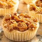 RITZ New York-Style Mini Crumb Cheesecakes - A salty sweet combination of RITZ Crackers and New York-style crumb cheesecake, with RITZ Crack...