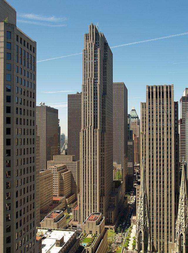 GE Building (Rockefeller Center), New York, 1933.