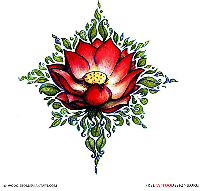 90 Lotus Flower Tattoos