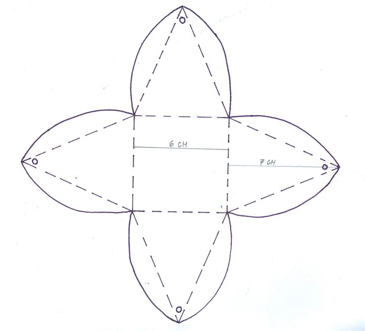 Krabička ve tvaru pyramidy - návod na výrobu   Školní svět