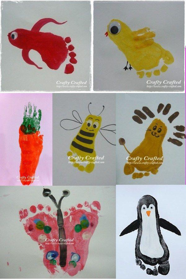 Super Les 25 meilleures idées de la catégorie Peinture avec les mains  IV65