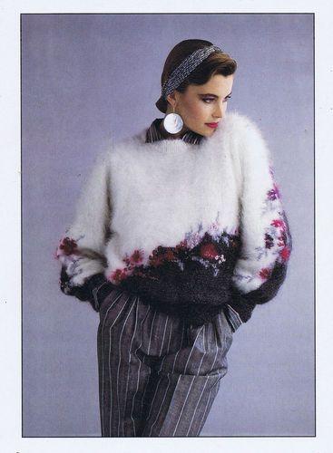 Knitting Elegance Pattern Magazine 17 32 Beautiful Hand Knits Anny Blatt 1985 | eBay
