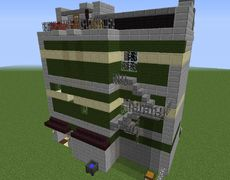 Lego Green Grocer - GrabCraft - Your number one source for MineCraft buildings, blueprints, tips, ideas, floorplans!
