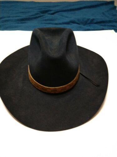 06a946d399 Details about Resistol 20x beaver cowboy hat 7 1 8 Fur Felt ...
