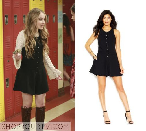 Girl Meets World: Season 2 Episode 24 Maya's Button Front Dress