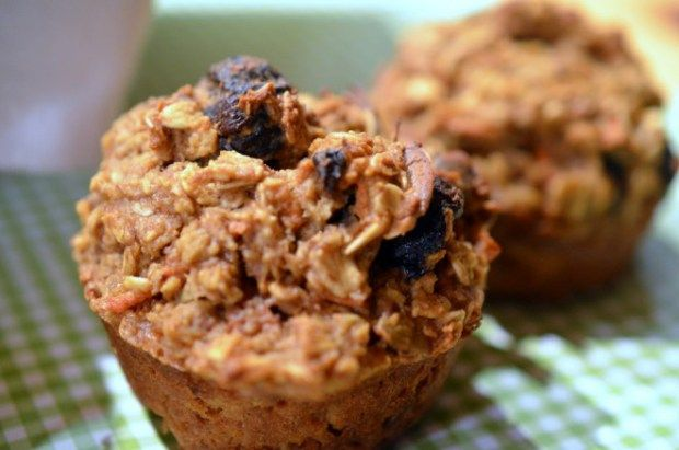 Cherry & Carrot Oat Muffin recipe: healthy muffins are great for ...