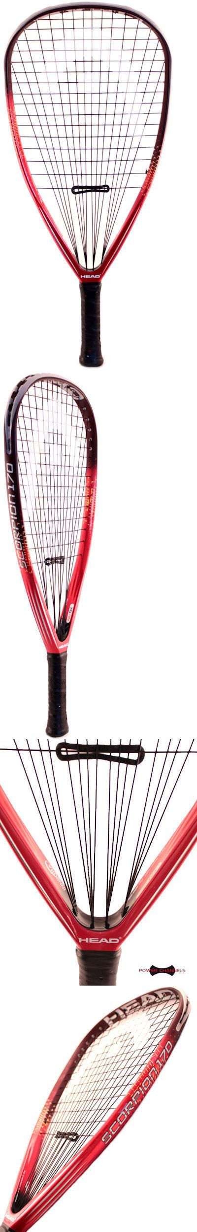 Racquetball 62168: Head Scorpion 170 Racquetball Racquet 3 5/8 Grip (Warranty From Usa) -> BUY IT NOW ONLY: $119.95 on eBay!