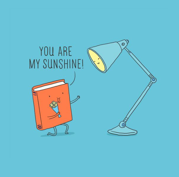 In Lim Heng Swee's (a.k.a. ilovedoodle) illustrations, everyday objects become cheerful little characters that make playful puns and observations about everyday life and staying positive.