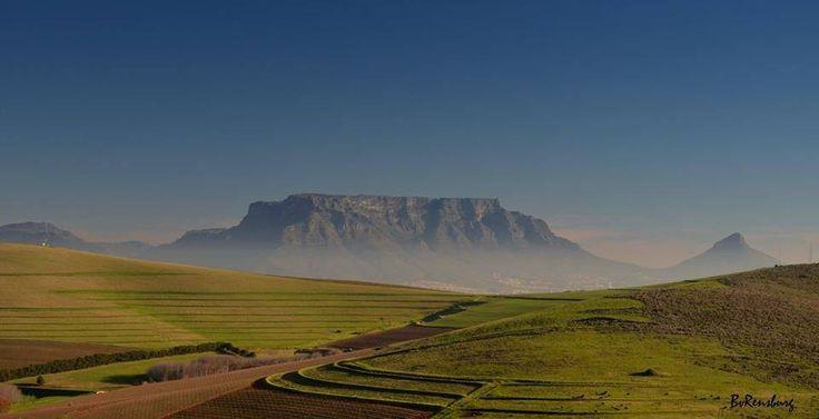 Table Mountain, Cape Town, South Africa. Photo: Belinda van Rensburg