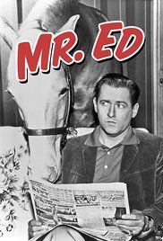 Mister Ed. If you like this show this episode is really funny:  Ed's Diction Teacher.originally on 03-10-1965.