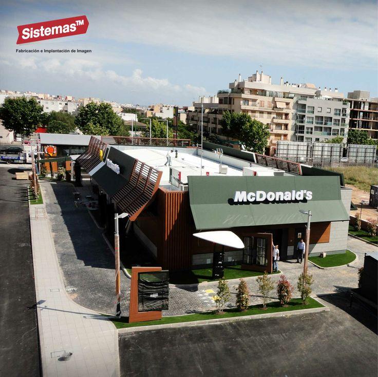 #McDonald's #PalmadeMallorca realizado por @Cesar Antonio Castillo Chahua TM