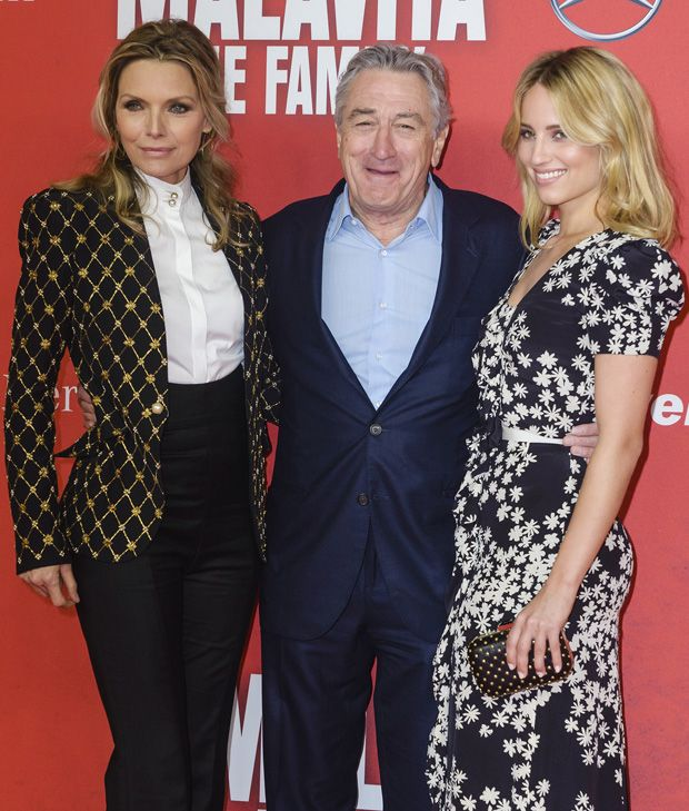 Michelle Pfeiffer, Robert De Niro and Dianna Agron - 'Malavita - The Family' Berlin Premiere