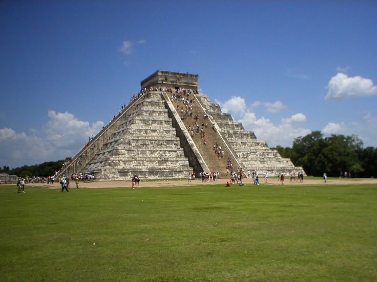 Chitchen Itza. I climbed this.