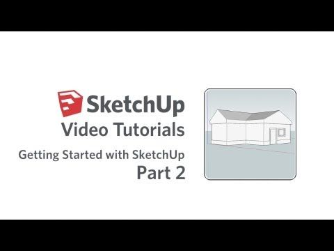 Getting Started with SketchUp - Part 2  http://youtu.be/M1QFmdZaZLE