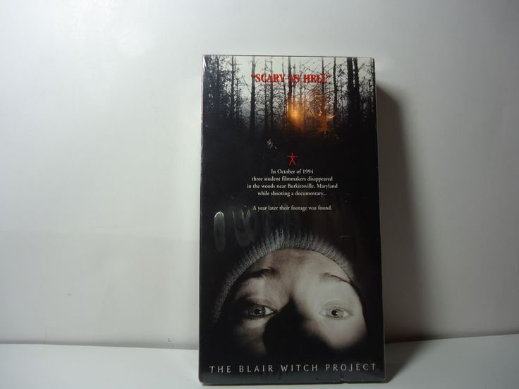 Blair Witch Project (VHS, 1999) New Horror Heather Donahue Movie Sealed Williams