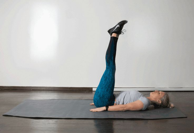 5. Straight Leg Raise #abs #bodyweight #workout http://greatist.com/move/best-exercises-lower-abs