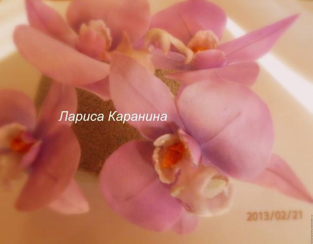 Мастер-класс: орхидея из шелка - Ярмарка Мастеров - ручная работа, handmade