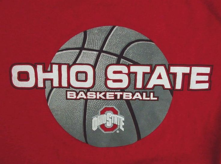 Ohio State Buckeyes Basketball T-Shirt, unisex size Large - OSU, college sports #theohiostate
