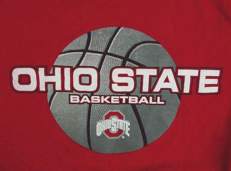 Ohio State Buckeyes Basketball T-Shirt, unisex size Large - OSU, college sports #theohiostate