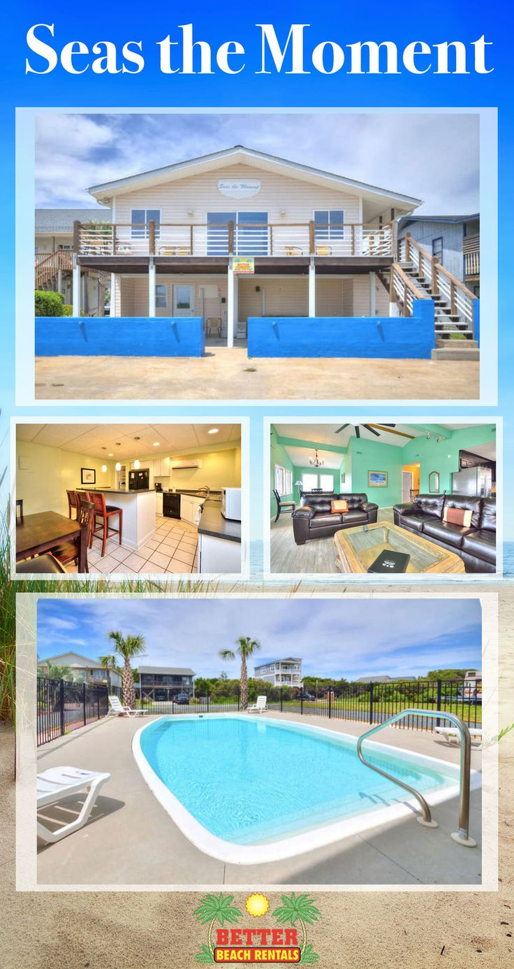 This 2nd row home is absolutely beautiful, and features a private pool. You will love the unobstructed ocean views. Sleeps 18!! Book now for 2018.