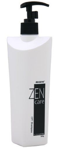 Zen Care CPT Shampoo 500g by Zen Care. Save 9 Off!. $19.99. Mugens Zen Care CPT Shampoo D1 for Damaged Hair is The copper peptide and ceramide protect weak scalp and repairs damaged hair. The natural plant surface active agent cleans the scalp and hair smoothly.  Pentavitin and deep sea water ingredients relieve scalp that has become sensitive after perm or dye, and moisturize dried out hair. Luxurious Oriental floral fragrance.