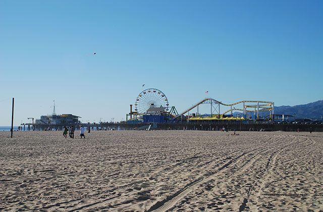 Santa Monica Pier, Pacific Park Ferris Wheel & Roller Coaster